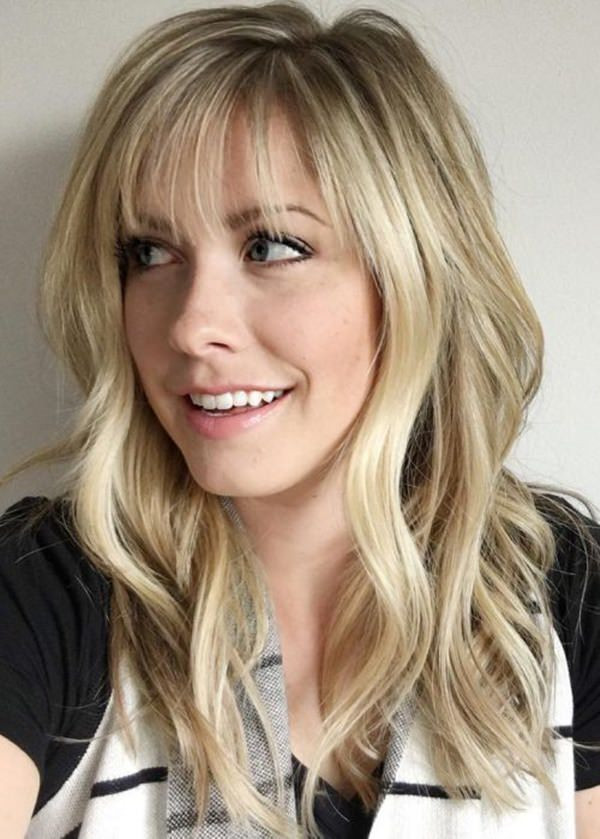 How To Cut Bangs On Long Hair  66 Hairstyles With Light Wispy Bangs Style Easily