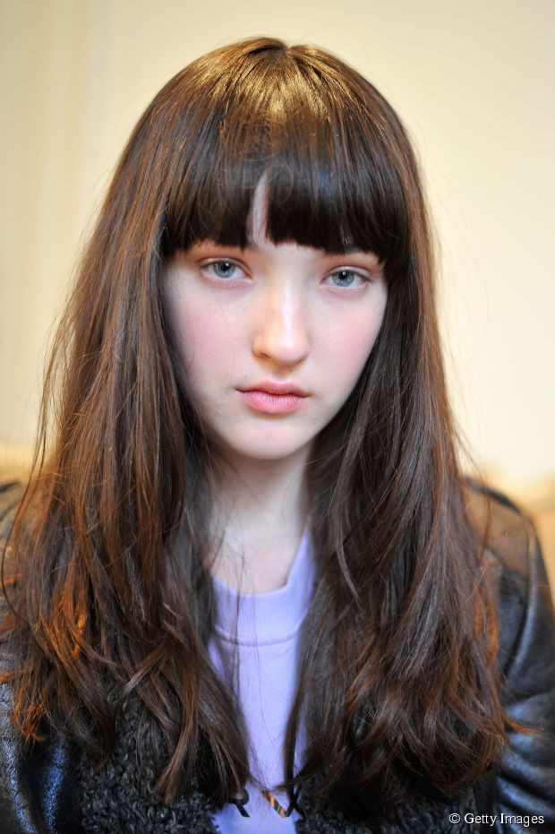 How To Cut Bangs On Long Hair  How to cut bangs with long hair