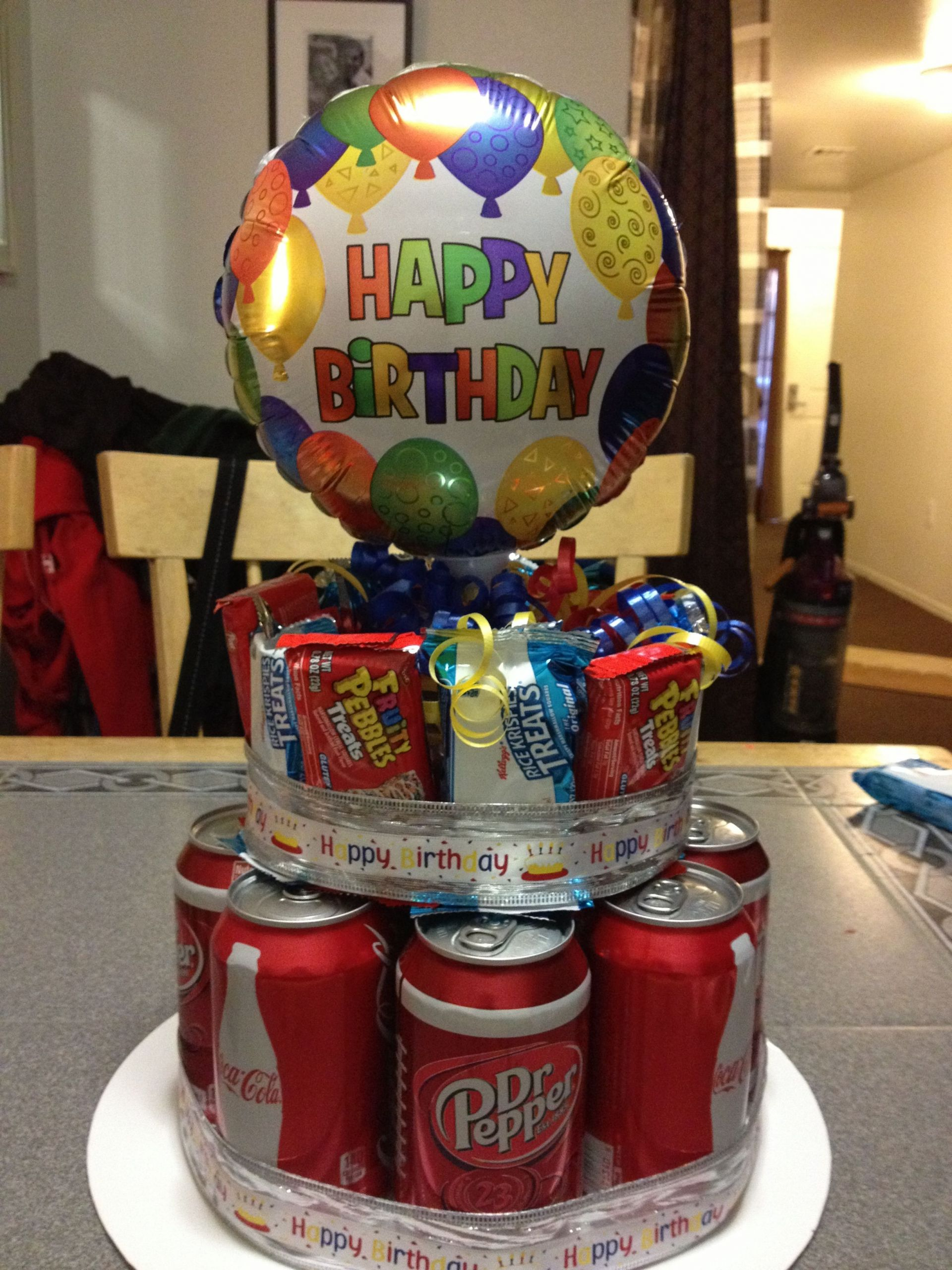 Ideas For 14 Year Old Boy Birthday Party  Birthday cake for my 14 year old son I got this idea from