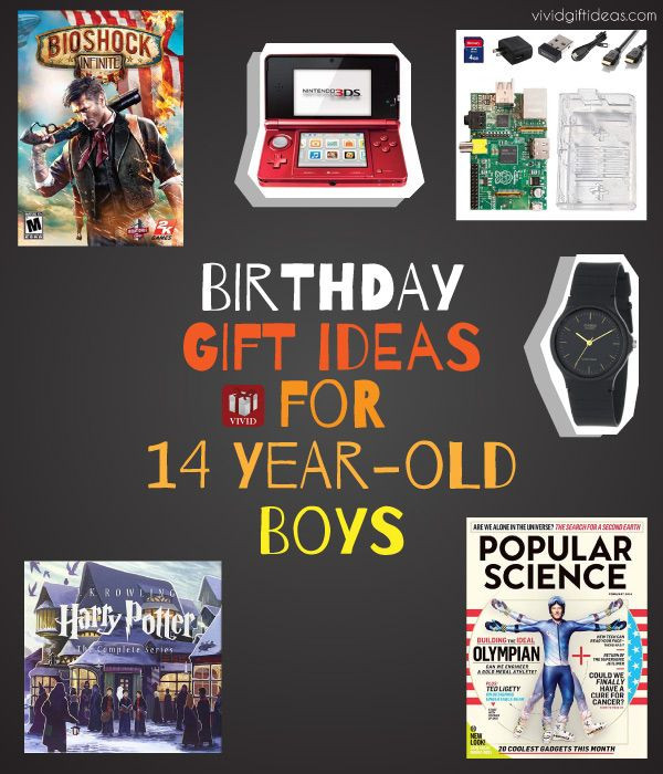 Ideas For 14 Year Old Boy Birthday Party  Birthday Gift Ideas for 12 13 or 14 Year Old Boy He ll