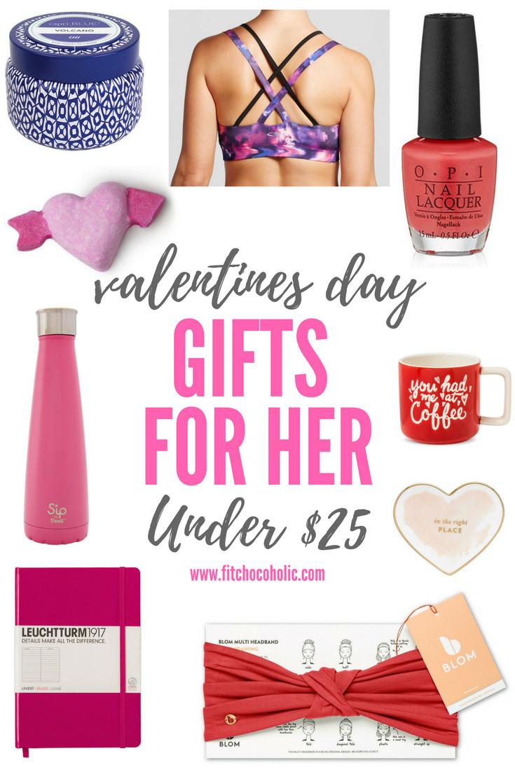 Ideas For Valentine Gift  Valentine s Day Gift Ideas For Her Under $25
