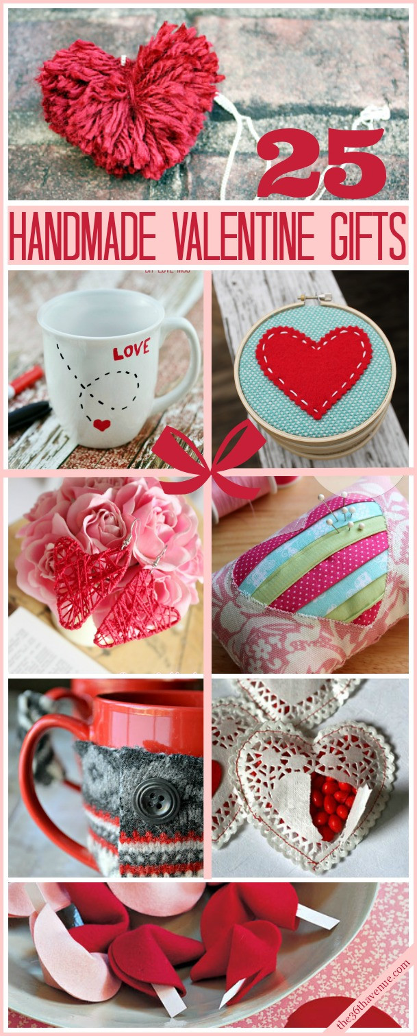 Ideas For Valentine Gift  25 Valentine Handmade Gifts The 36th AVENUE