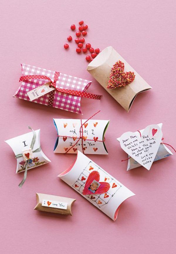 Ideas For Valentine Gift  10 Romantic Handmade Valentine Ideas
