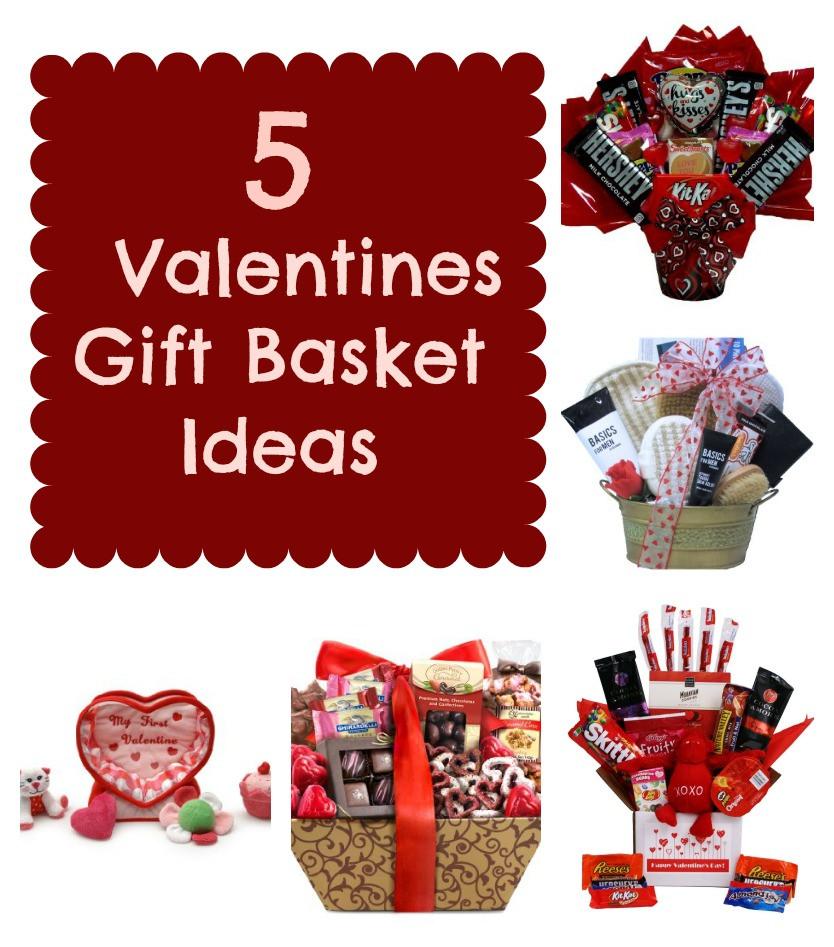 Ideas For Valentine Gift  5 Valentines Gift Basket Ideas Mrs Kathy King