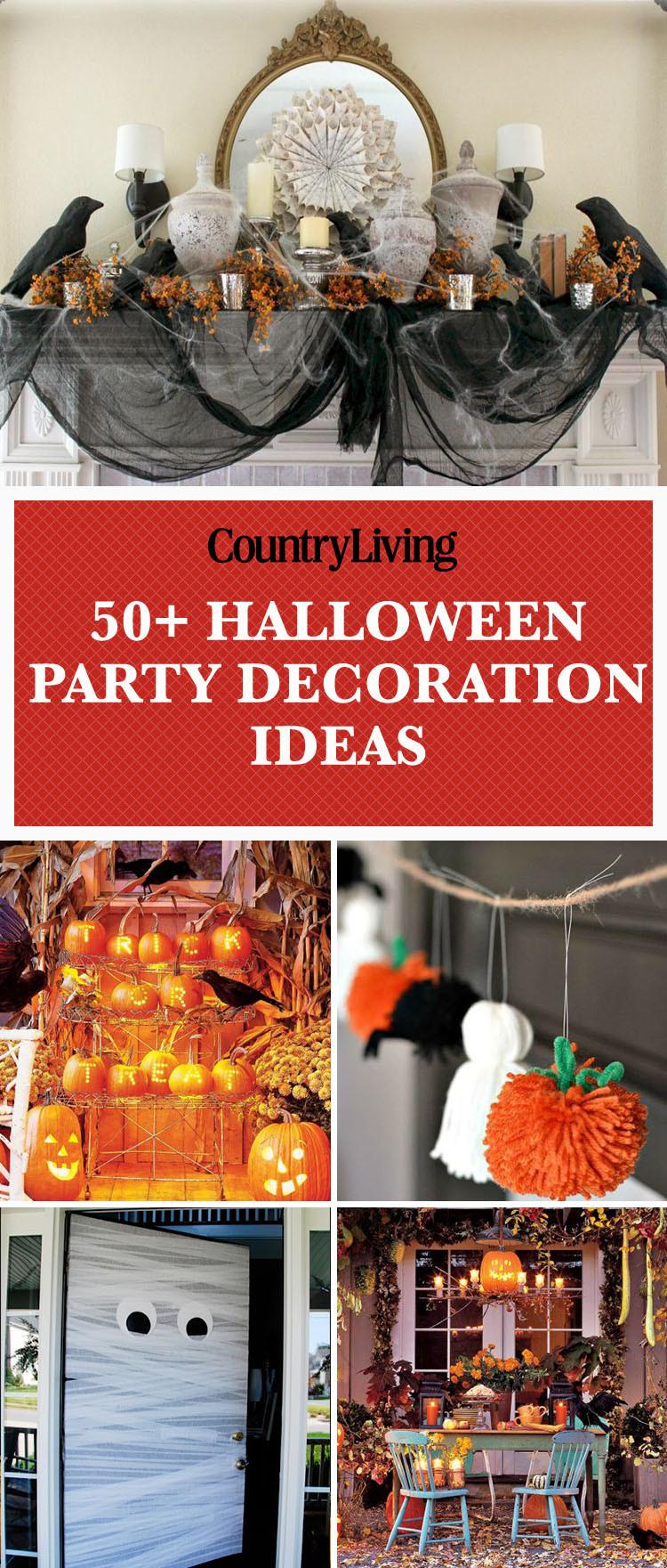 Ideas Halloween Party  56 Fun Halloween Party Decorating Ideas Spooky Halloween