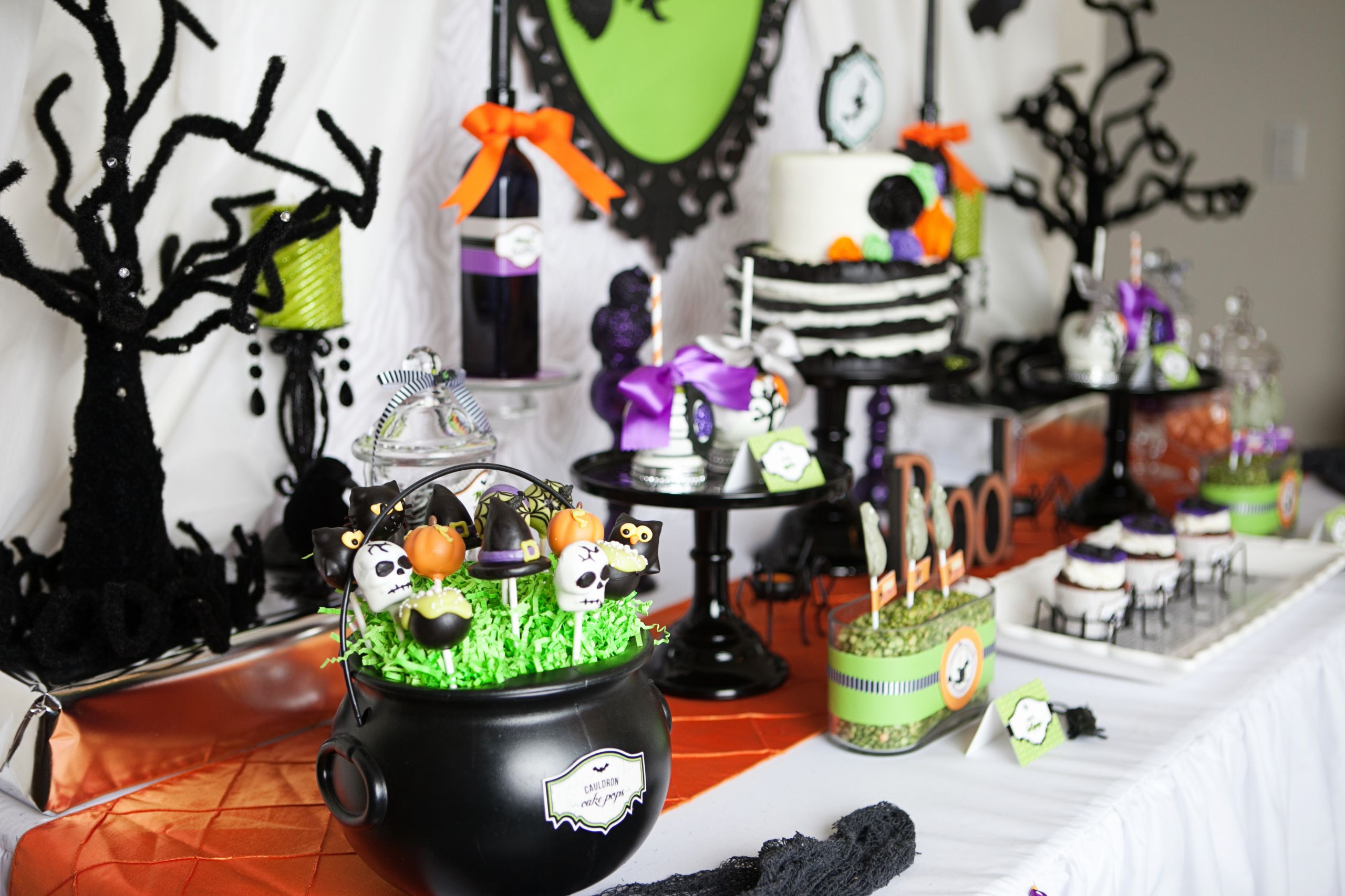 Ideas Halloween Party  A Wicked Witch Inspired Halloween Party
