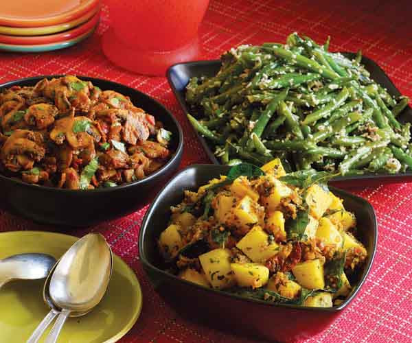 Indian Main Dishes  Spice Up Your Ve able Stir Fries Indian Style How To