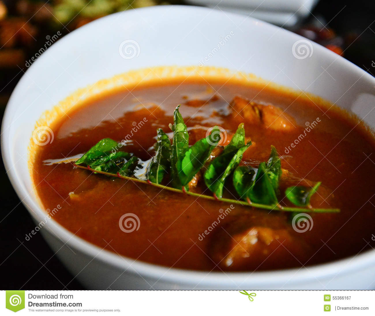 Indian Main Dishes  Indian Main Dish Stock Image