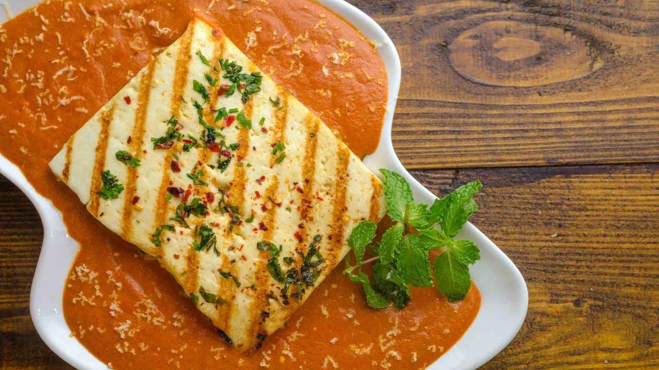 Indian Main Dishes  Paneer Parcha Sabzi Recipe
