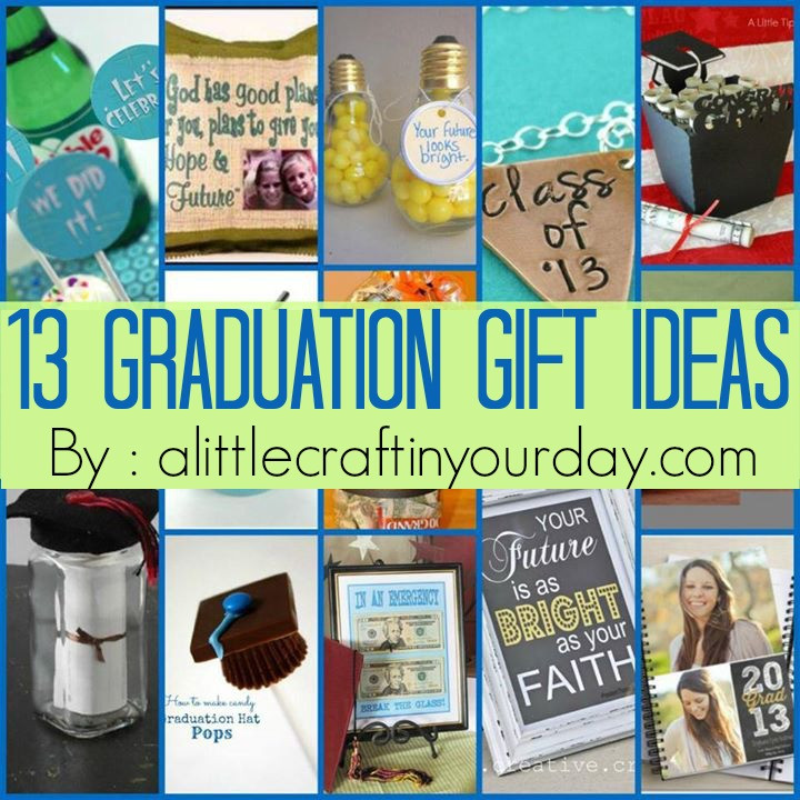 Inexpensive Graduation Gift Ideas  13 Graduation ideas A Little Craft In Your Day