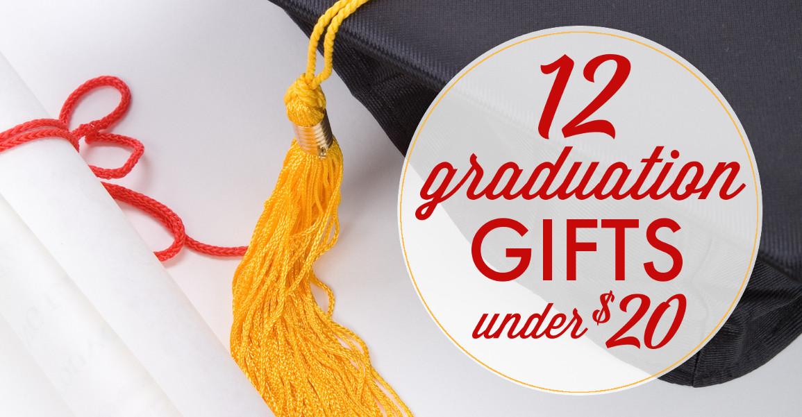 Inexpensive Graduation Gift Ideas  Inexpensive Graduation Gifts Under $20