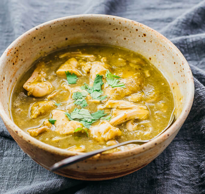 Instant Pot Chicken Chili Verde  Instant Pot Chili Verde Savory Tooth