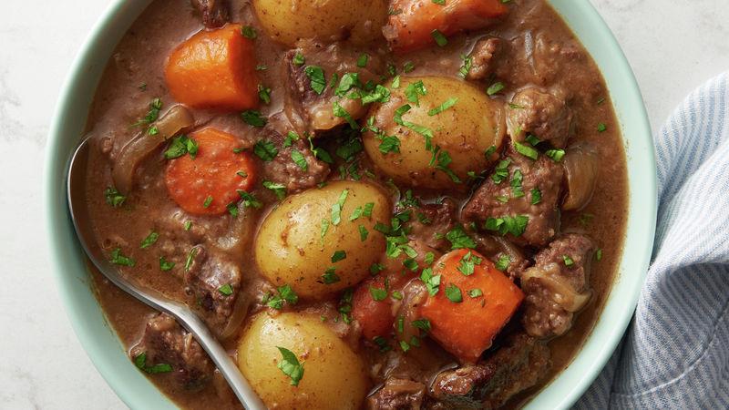 Irish Beef Stew Slow Cooker  Slow Cooker Irish Stout Beef Stew Recipe BettyCrocker