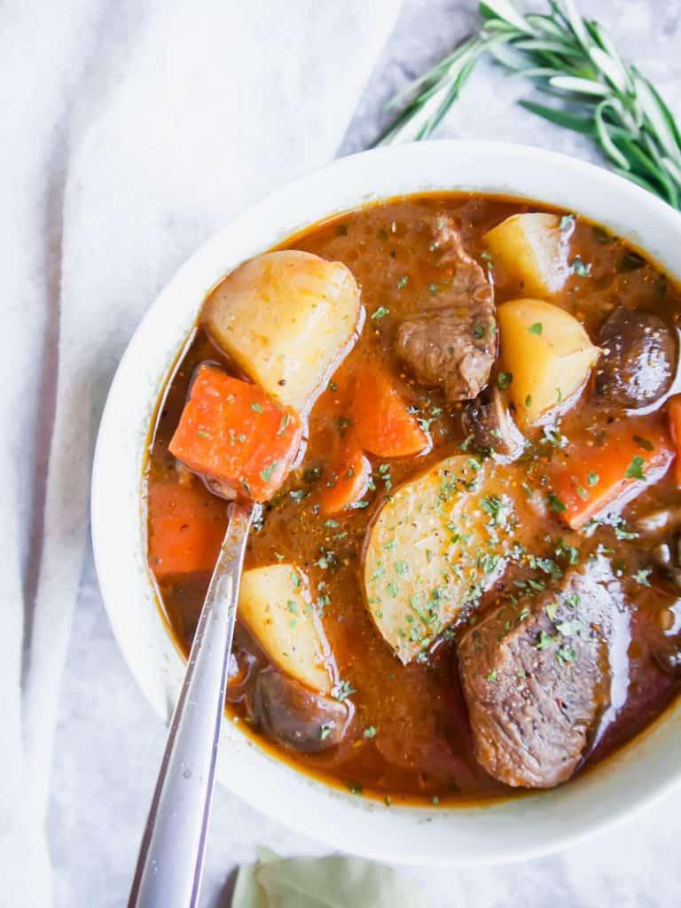 Irish Beef Stew Slow Cooker  Paleo Slow Cooker Irish Beef Stew Whole30