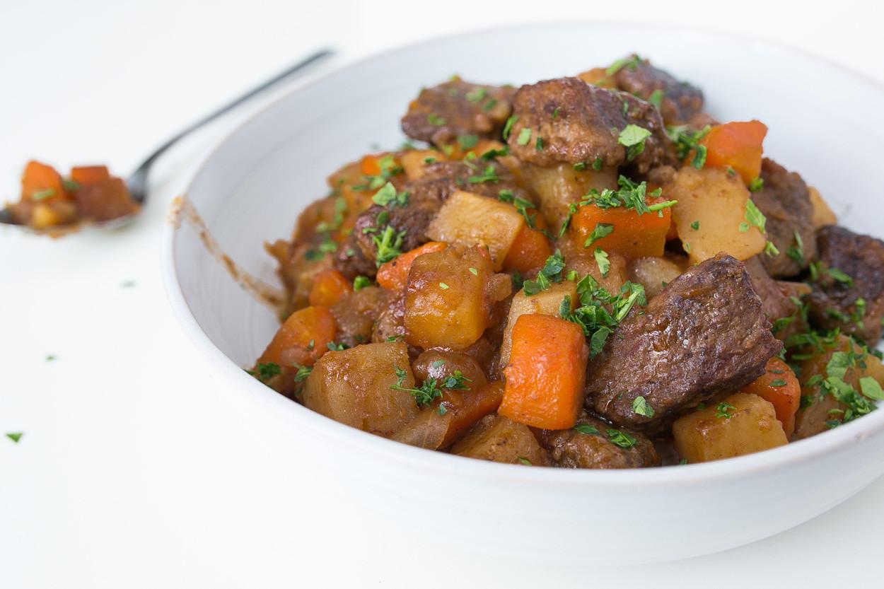 Irish Beef Stew Slow Cooker  Slow Cooker Irish Beef Stew