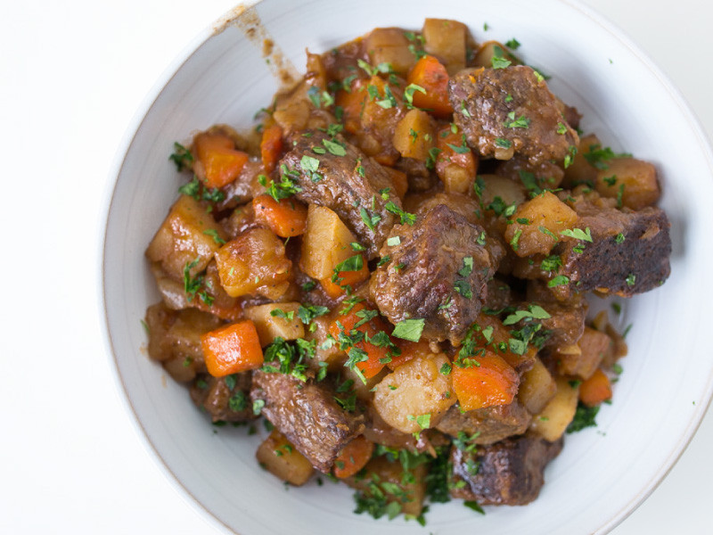 Irish Beef Stew Slow Cooker  Slow Cooker Irish Beef Stew Recipe