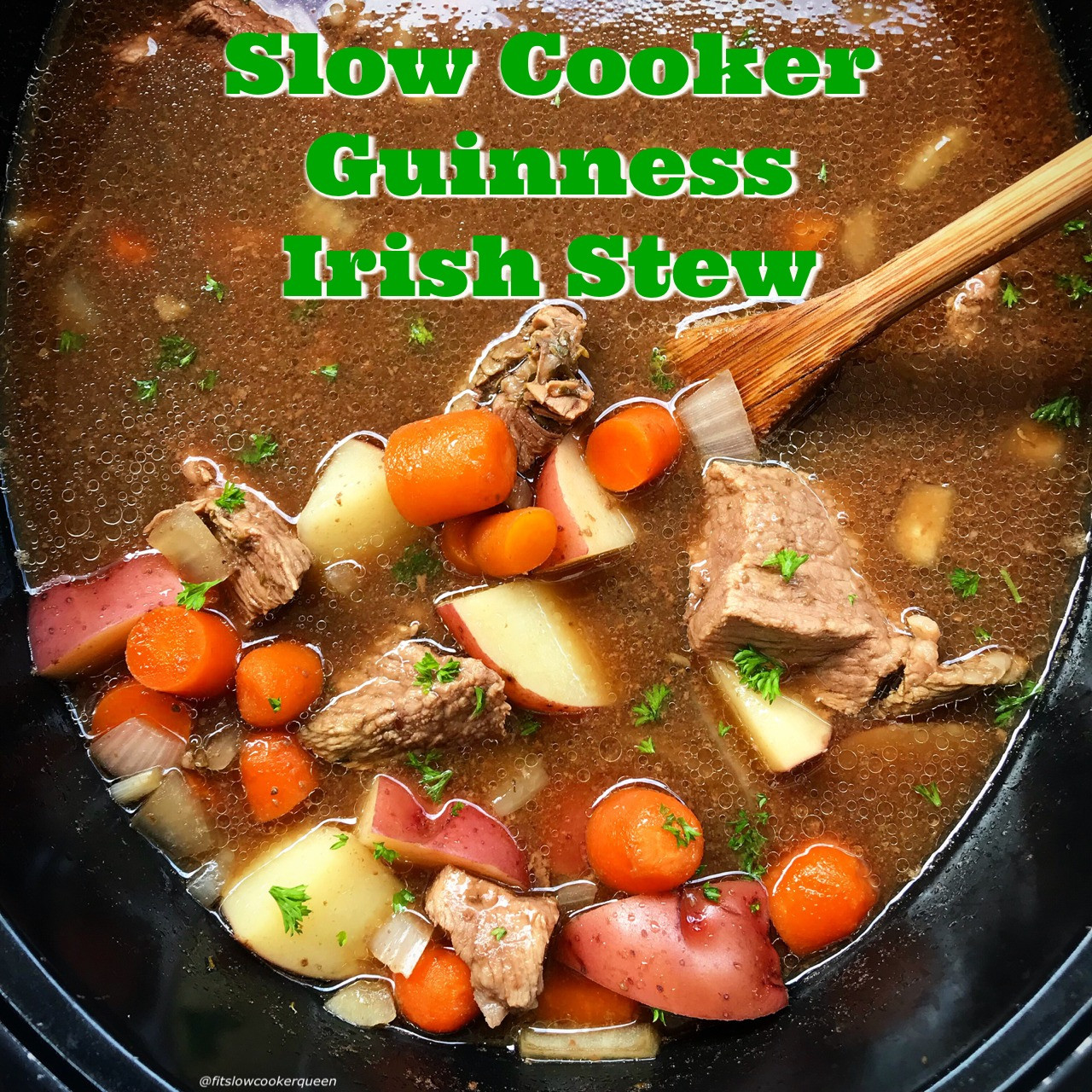 Irish Beef Stew Slow Cooker  Slow Cooker Guinness Irish Stew Fit Slow Cooker Queen