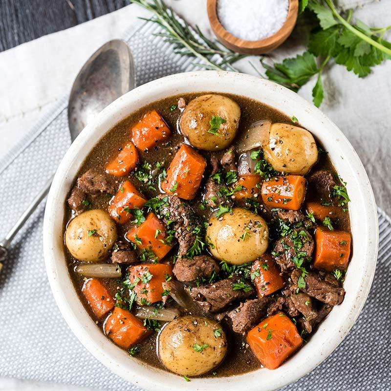 Irish Beef Stew Slow Cooker  Slow Cooker Irish Beef Stew HamiltonBeach