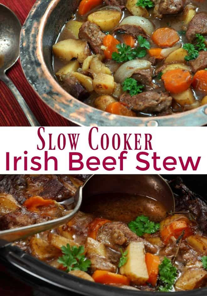 Irish Beef Stew Slow Cooker  How to Make Easy Slow Cooker Irish Beef Stew An Alli Event