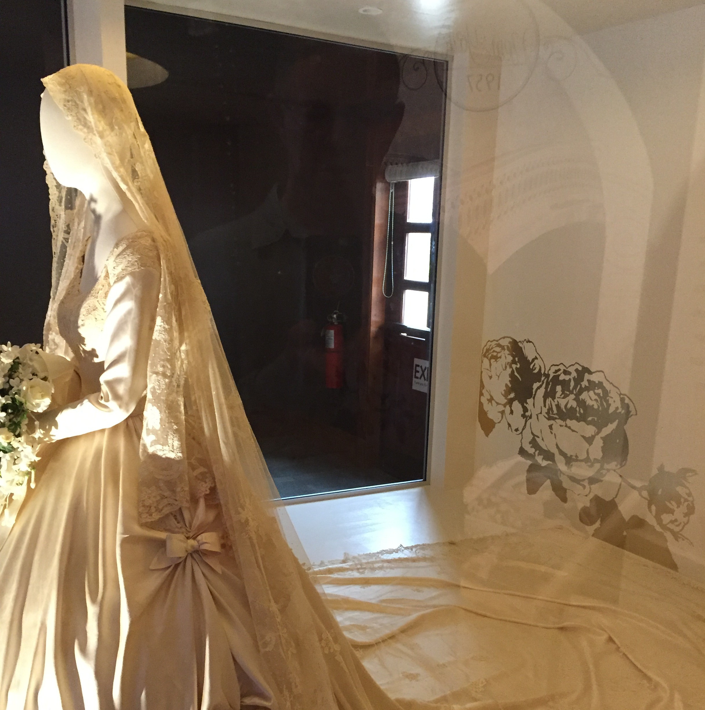 Jackie Kennedy Wedding Veil  See Biltmore s latest display while staying at our