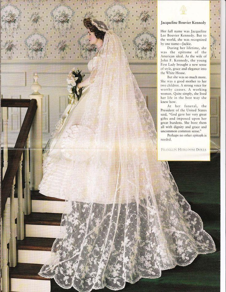 Jackie Kennedy Wedding Veil  I ve never seen the train of Jackie Kennedy s veil It s