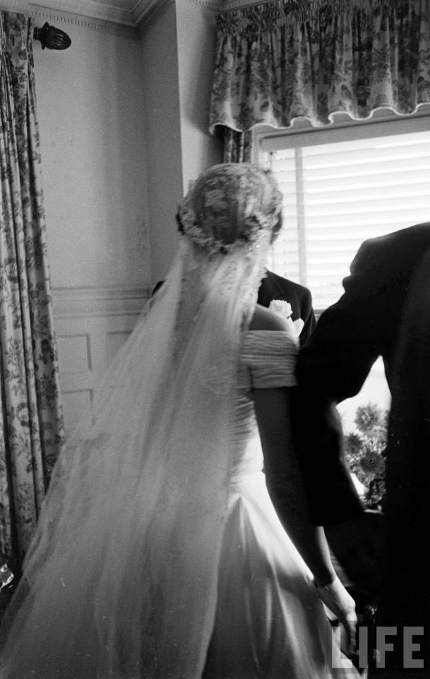 Jackie Kennedy Wedding Veil  17 Best images about Kennedy wedding on Pinterest