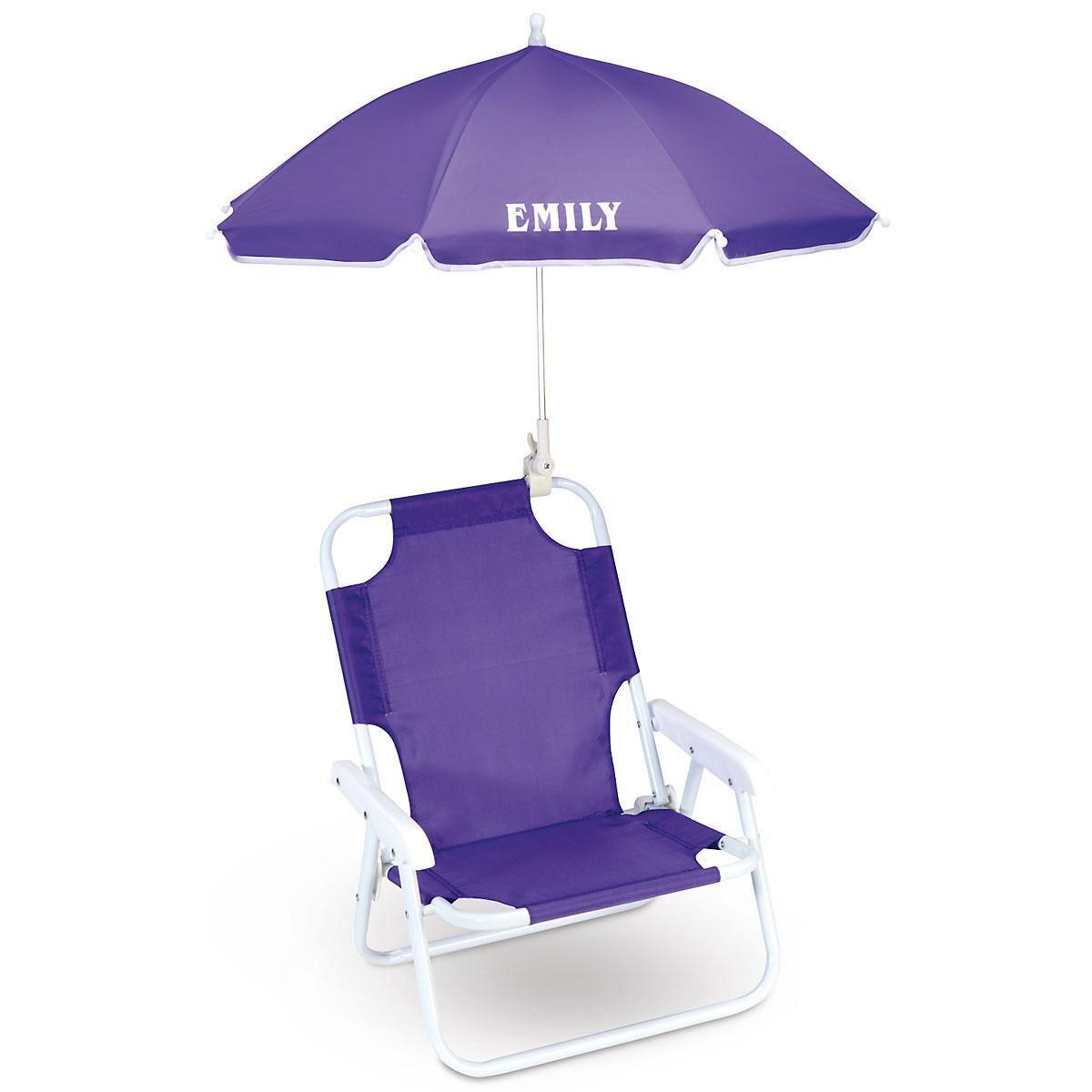 Kids Beach Chair With Umbrella  Umbrella Beach Chair for Kids