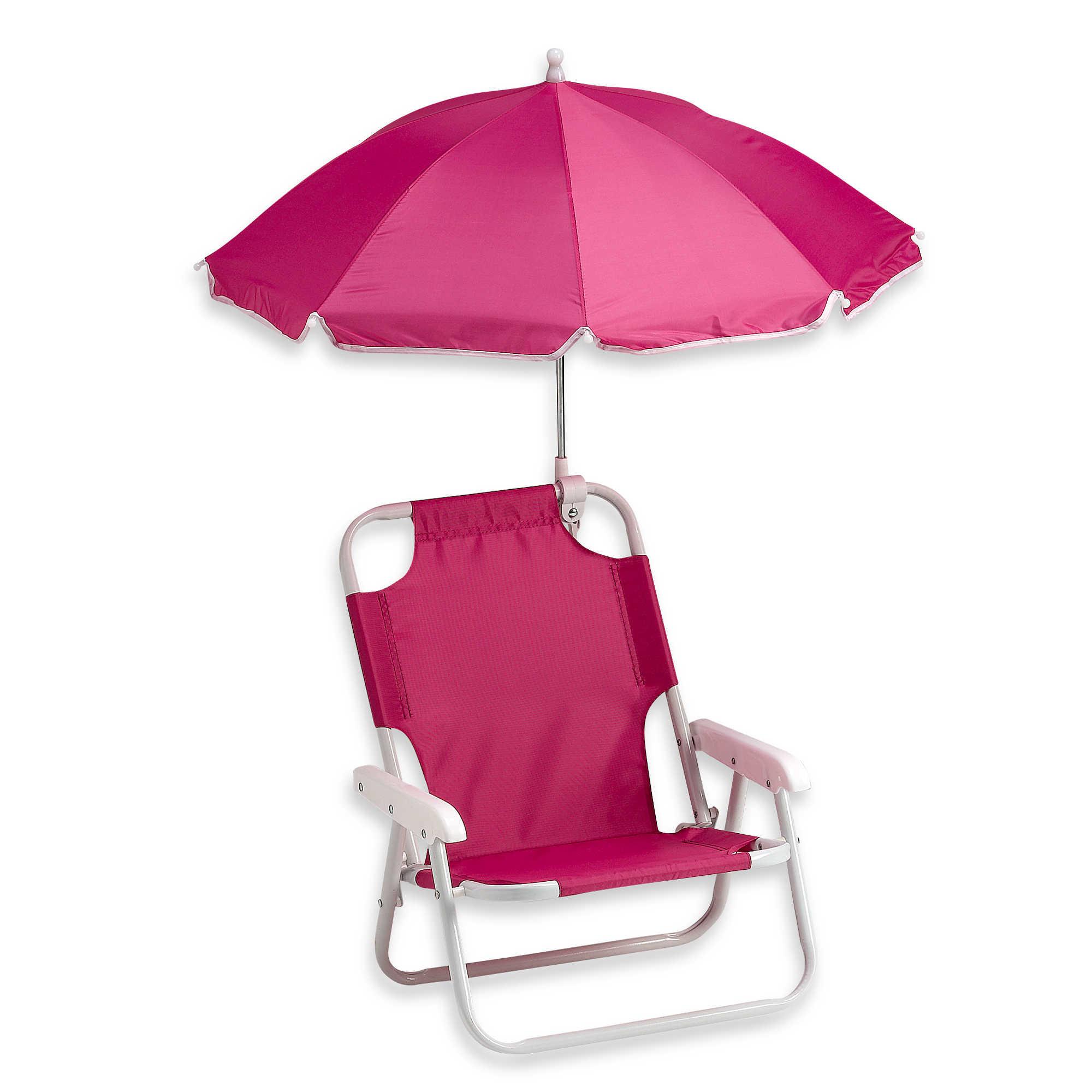 Kids Beach Chair With Umbrella  Folding Beach Chair with Umbrella Purple Pumpkin Gifts