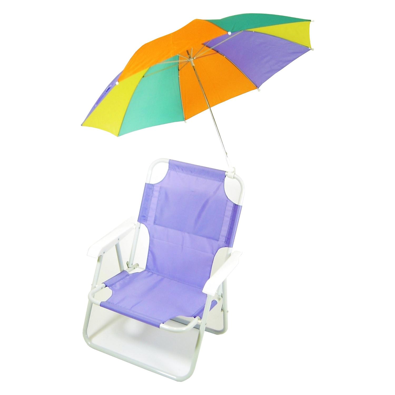Kids Beach Chair With Umbrella  Redmon Outdoor Baby Kids Beach Chair with Umbrella
