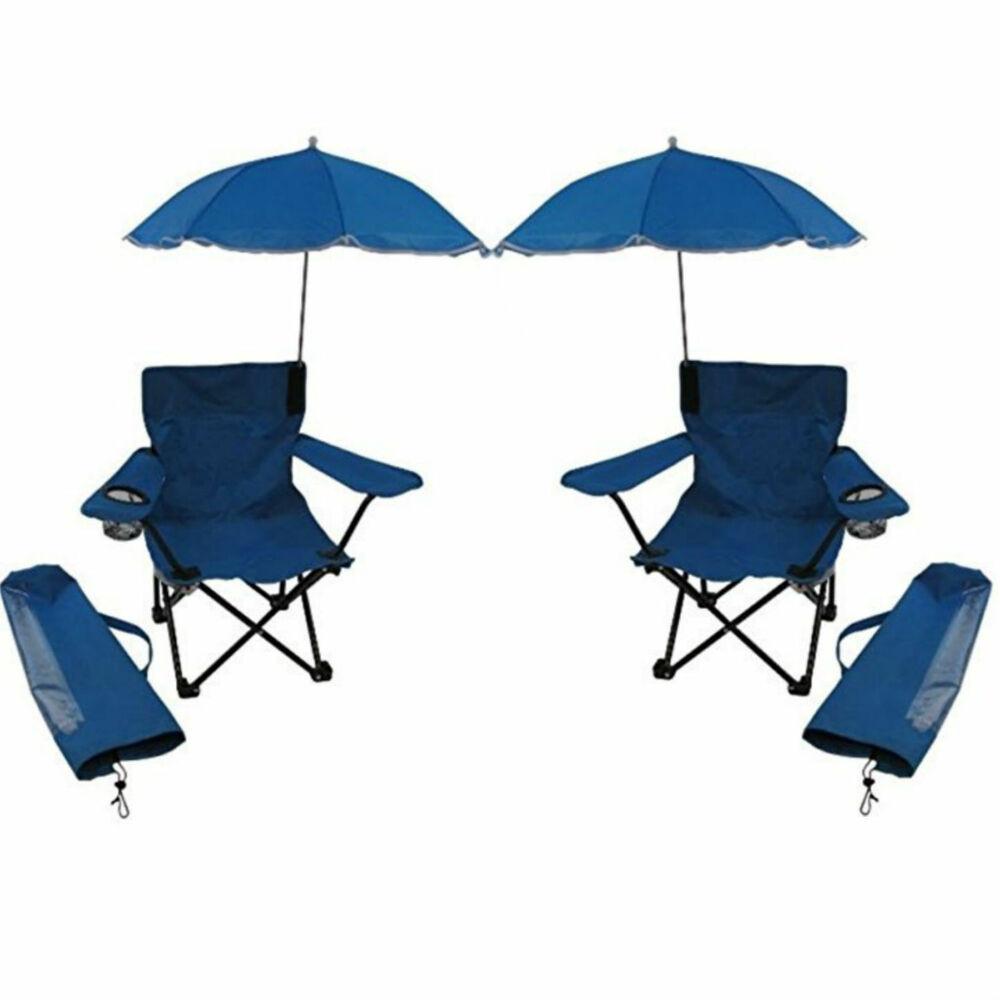 Kids Beach Chair With Umbrella  Redmon For Kids Beach Baby Kids Umbrella Camp Chair Blue