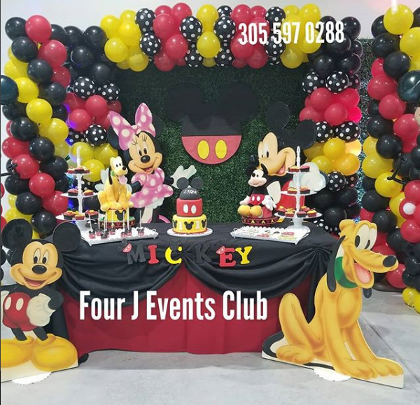 Kids Birthday Party Miami  kids birthday party places in Miami — Four J Events Club