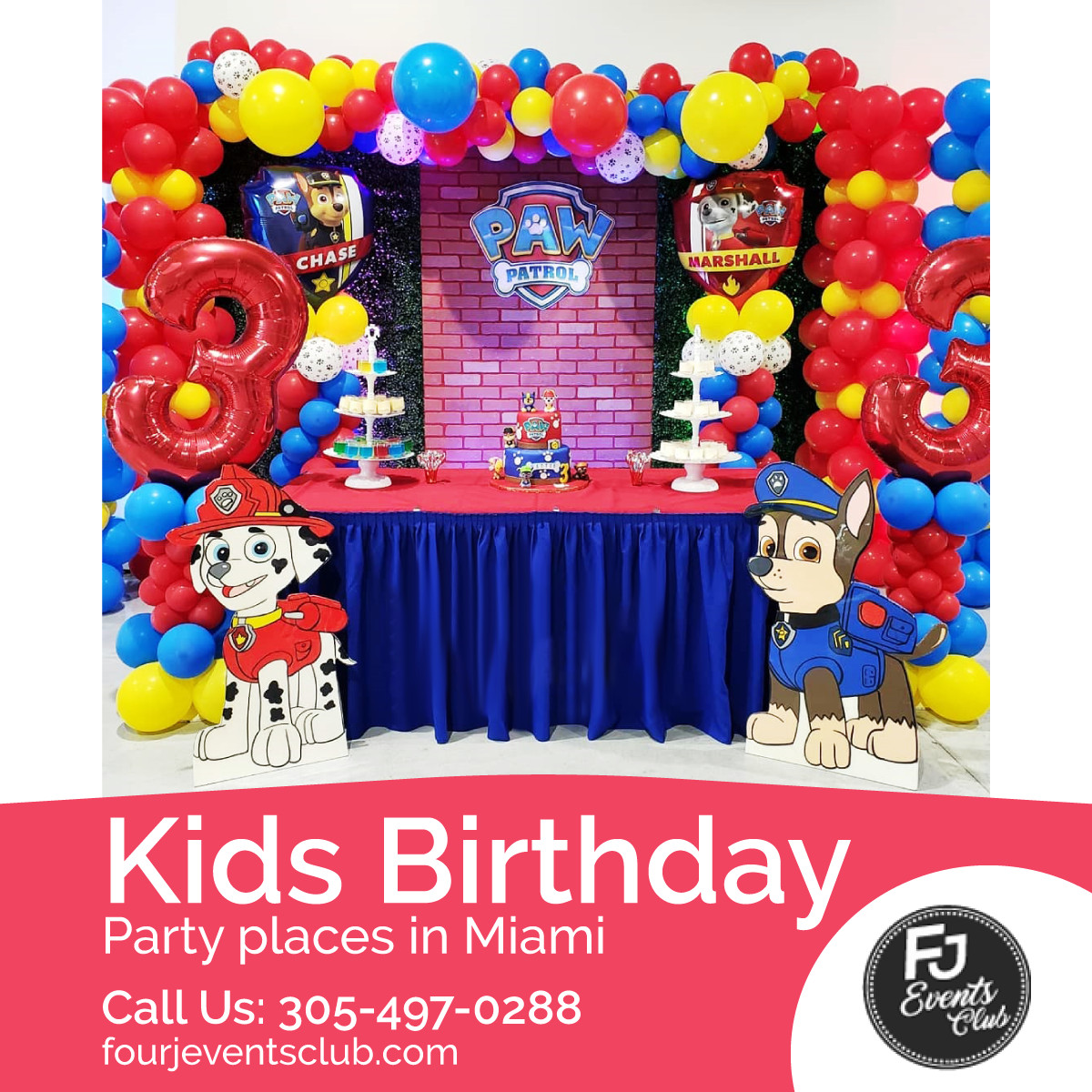 Kids Birthday Party Miami  Choose the Ideal Venue For your Kid's Birthday Party
