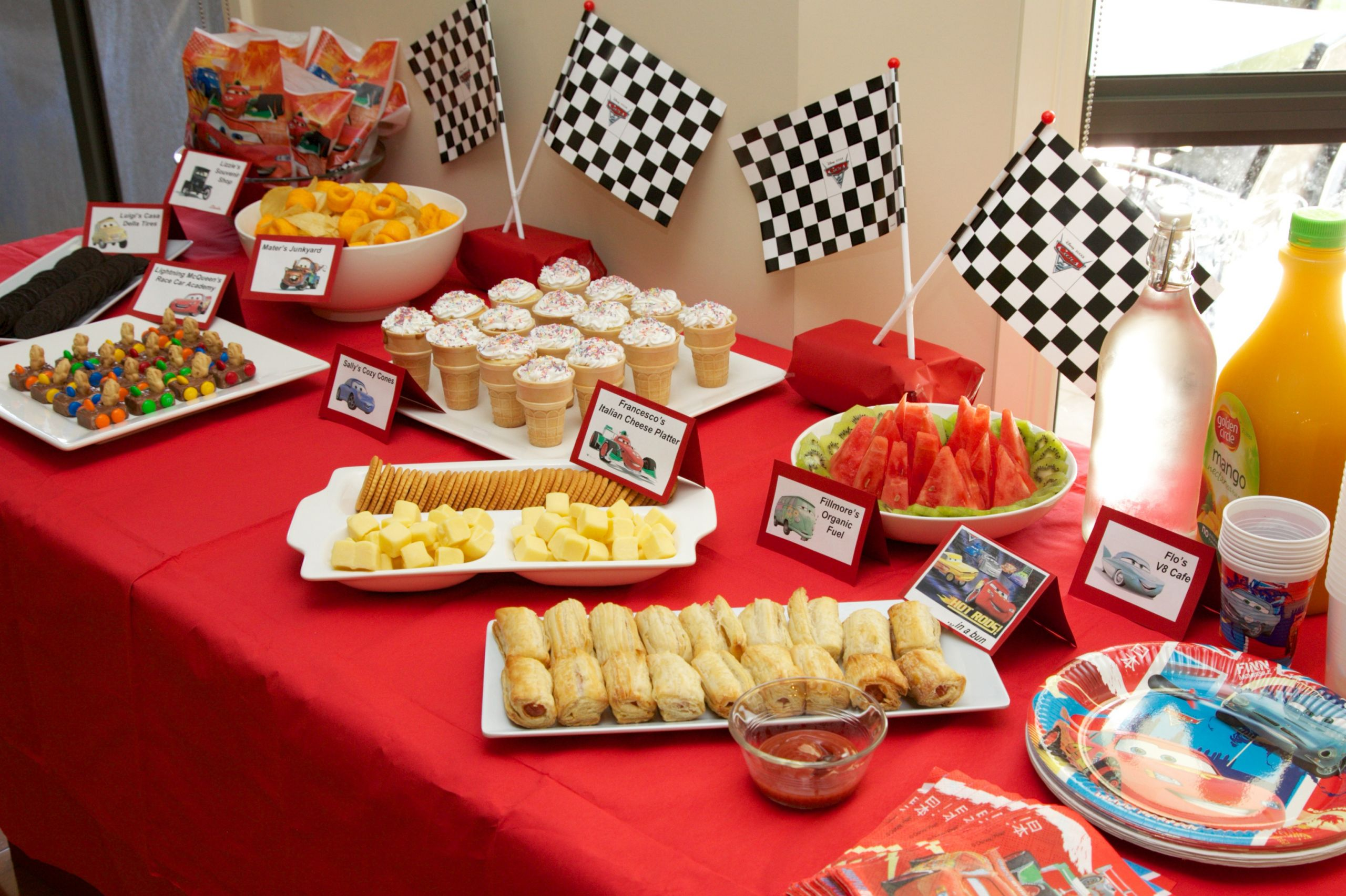 Kids Birthday Party Snacks  How to throw a BIG kids birthday party on a small bud