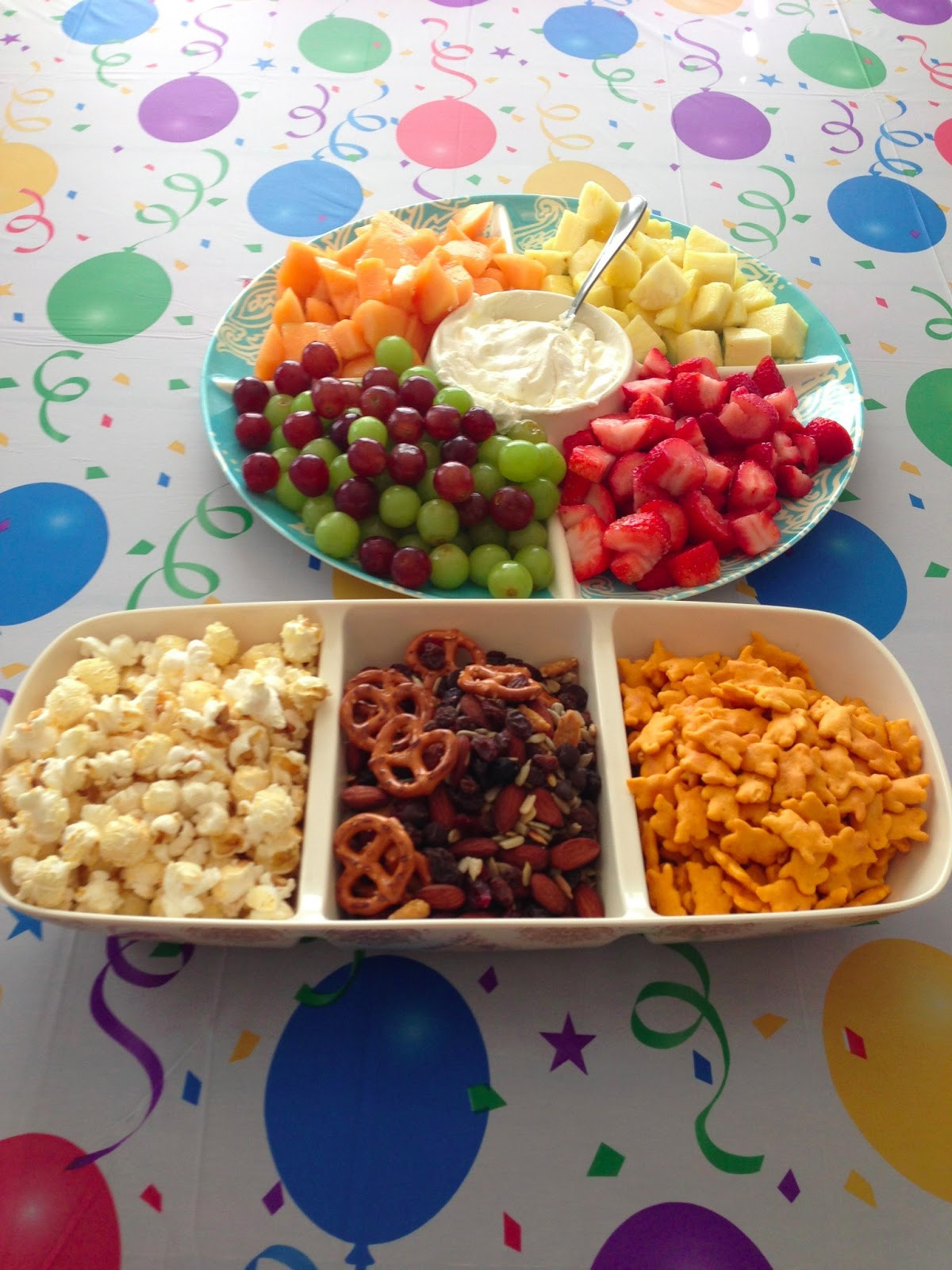 Kids Birthday Party Snacks  Fit n Busy Mama Healthy Kids Birthday Party