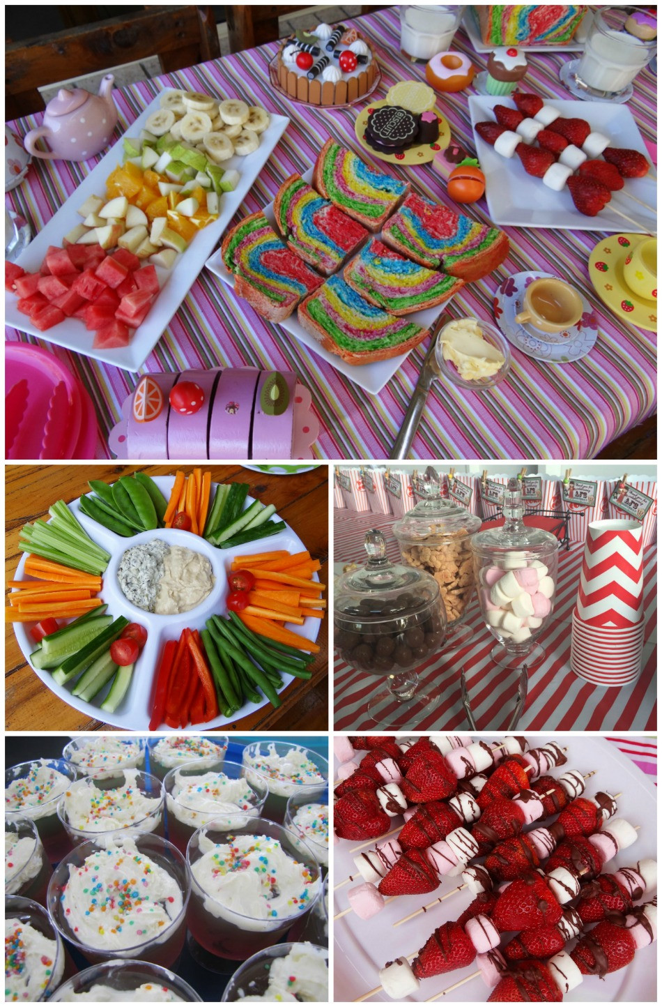Kids Birthday Party Snacks  50 Kids Party Food Ideas