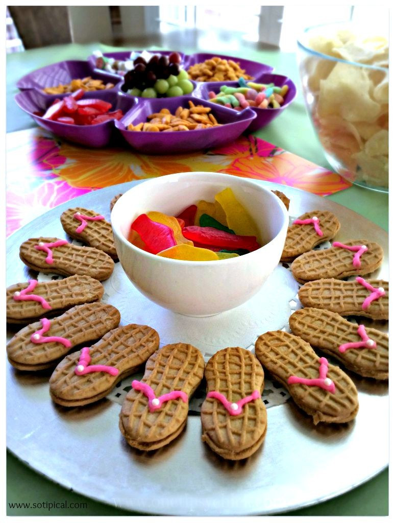 Kids Birthday Party Snacks  Luau Birthday Party For Kids