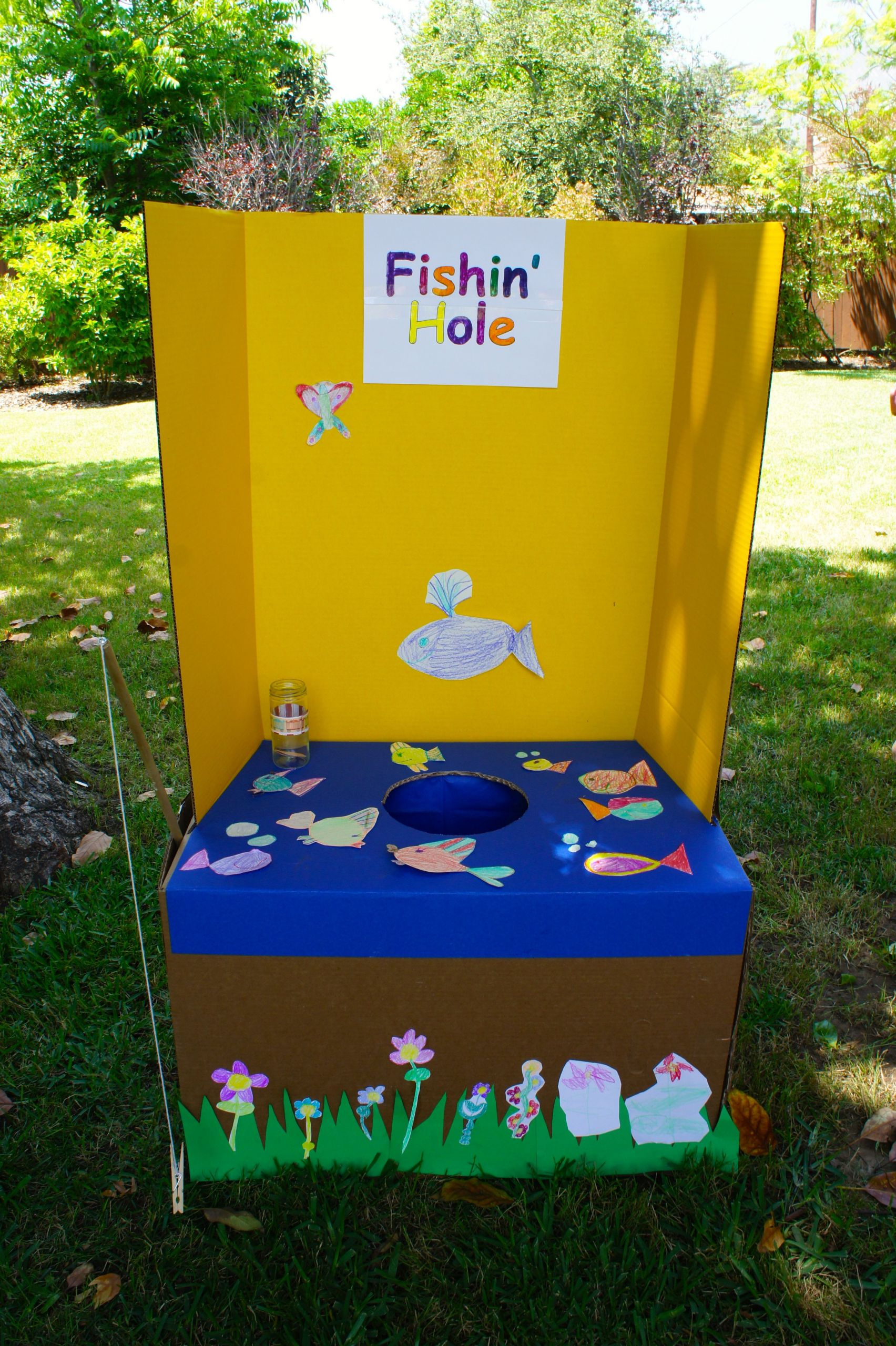 Kids Fish Birthday Party  Fishing game for carnival birthday party I am sure I