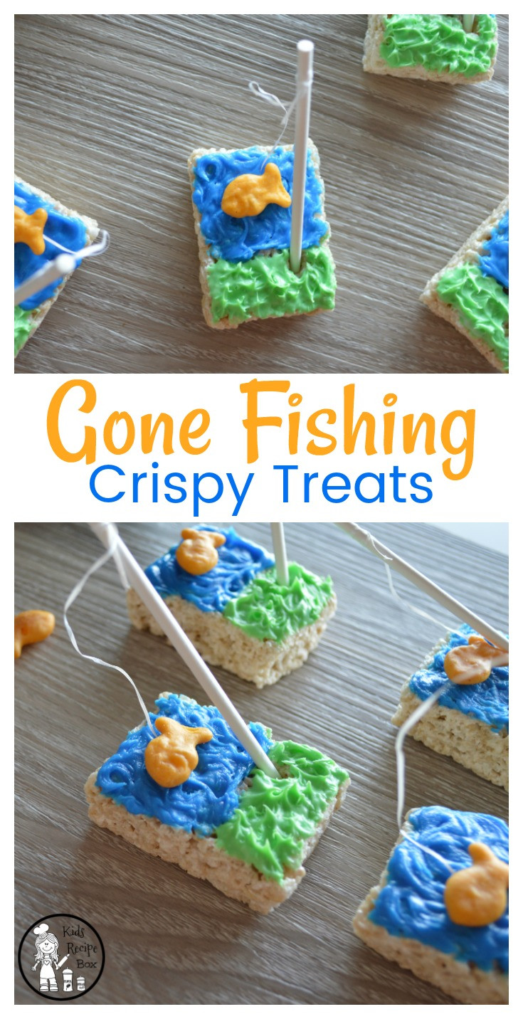 Kids Fish Birthday Party  Gone Fishing Party Treats Kids Recipe Box
