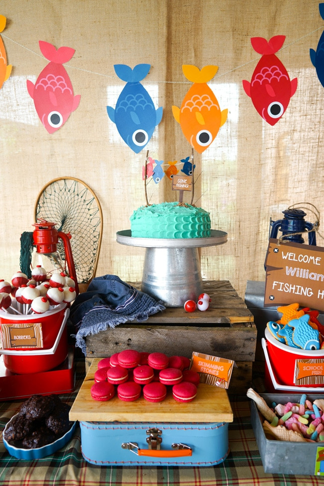 Kids Fish Birthday Party  10 Most Popular Kids Party Themes