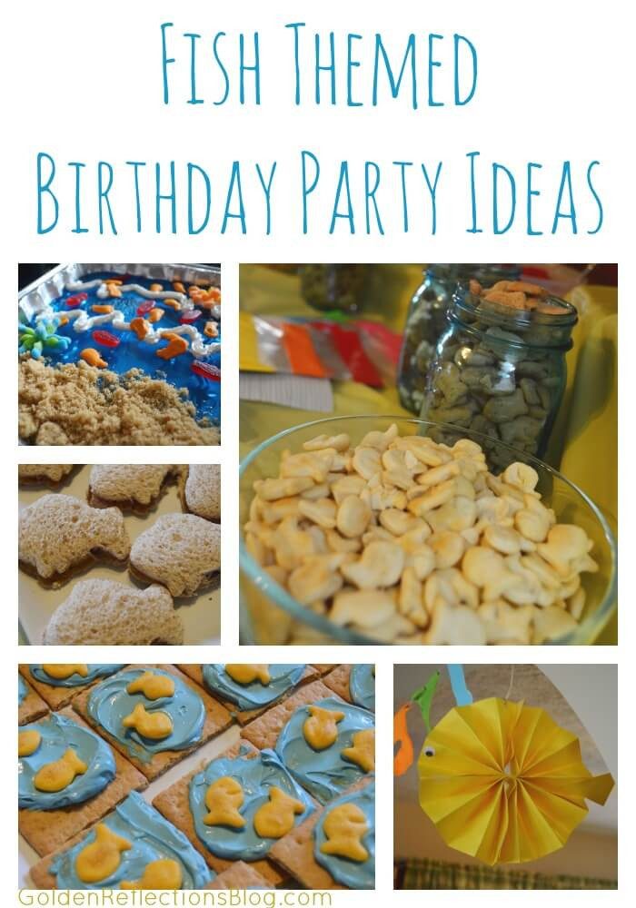Kids Fish Birthday Party  Fish Themed Birthday Party Ideas Growing Hands Kids