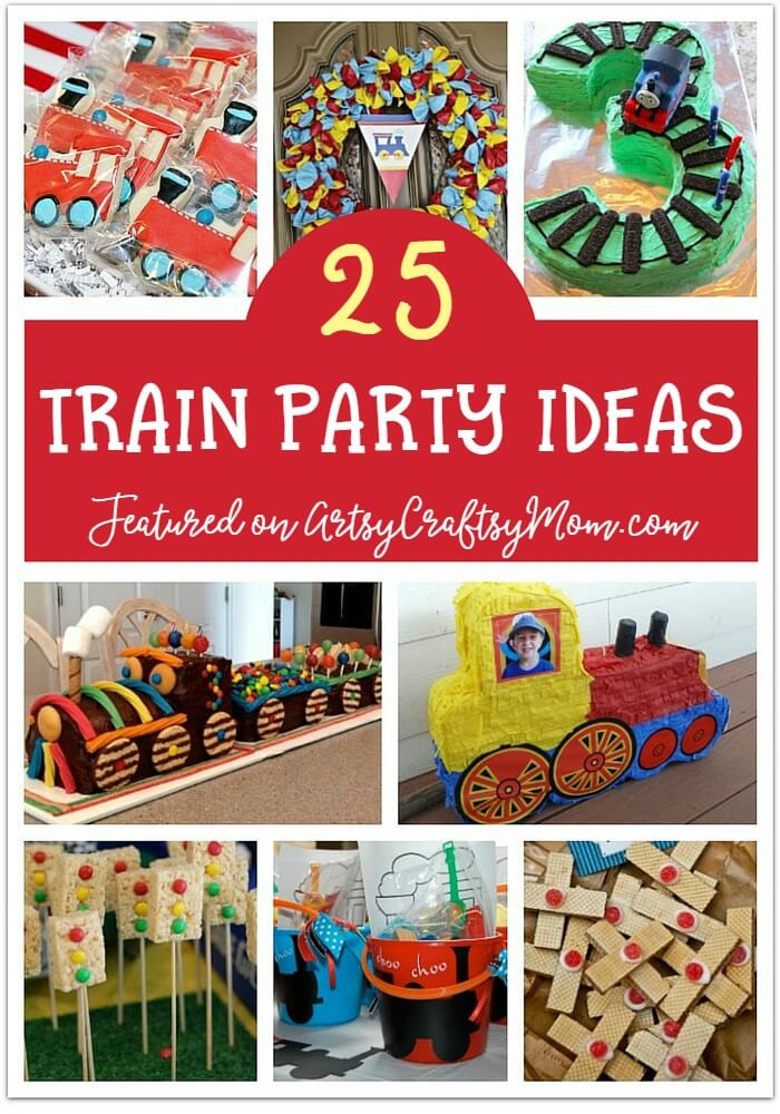 Kids Party Trains  25 Awesome Train Party Ideas for Kids