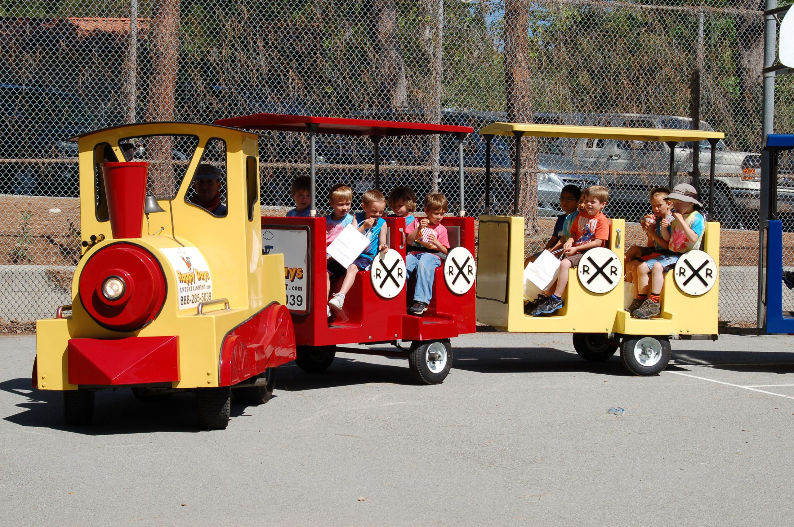 Kids Party Trains  Trackless Train Party – All Aboard For Fun – Kids