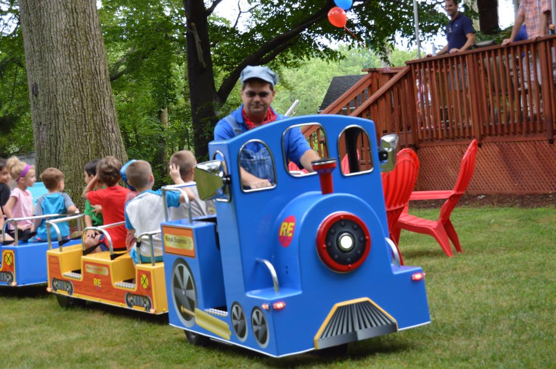 Kids Party Trains  Children s Train Ride Rental Peoria IL
