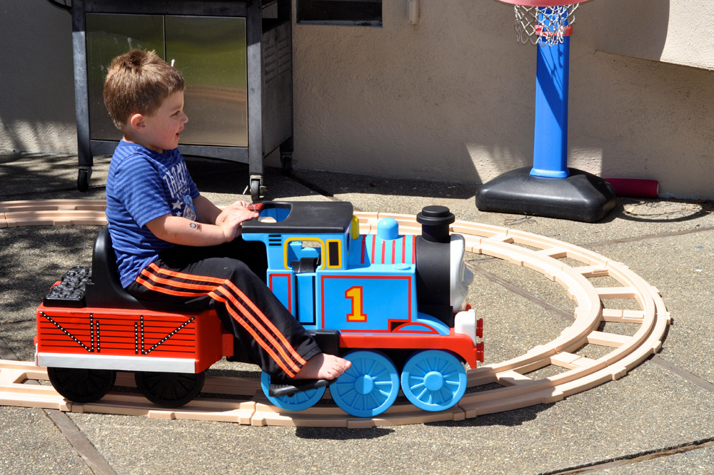 Kids Party Trains  Thomas the Train Cherry Top Parties