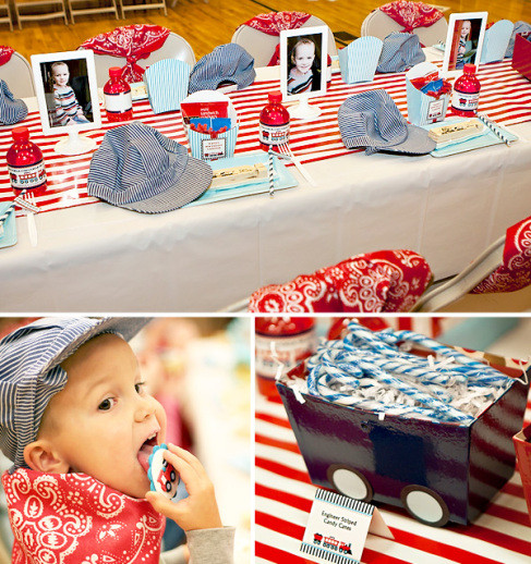 Kids Party Trains  Adorable train party inspiration DIY party ideas