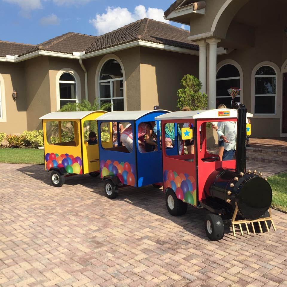 Kids Party Trains  Train Fun Rides JJ Party RentalsJJ Party Rentals