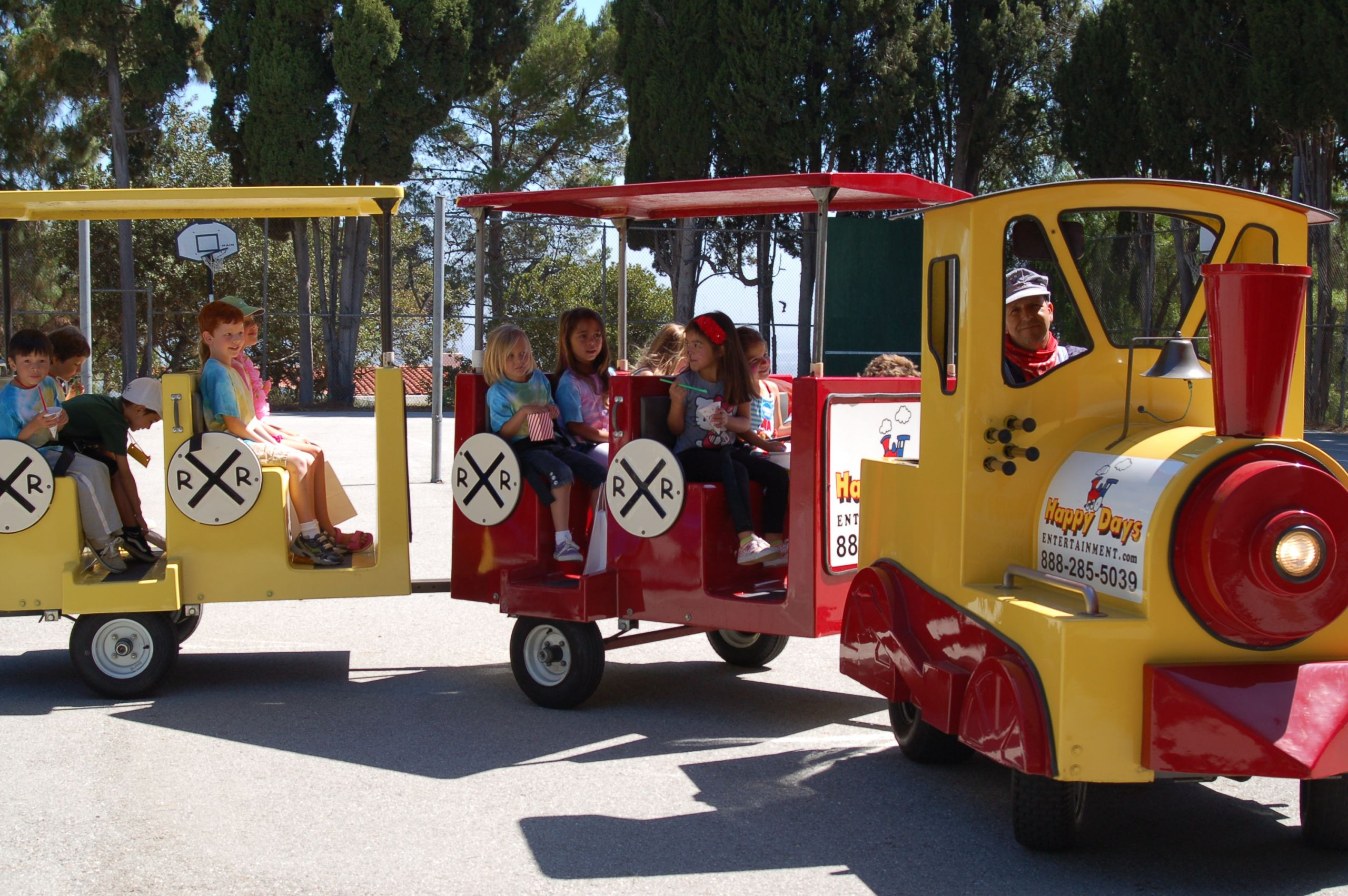 Kids Party Trains  Trackless Trains