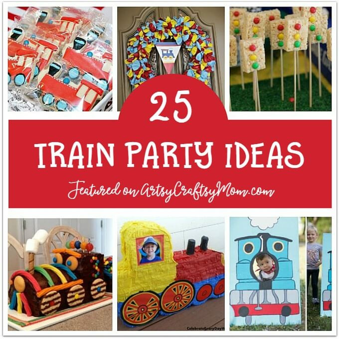 Kids Party Trains  25 Awesome Train Birthday Party Ideas for Kids