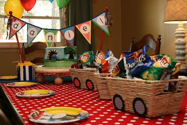 Kids Party Trains  Train Party Ideas Collection Moms & Munchkins