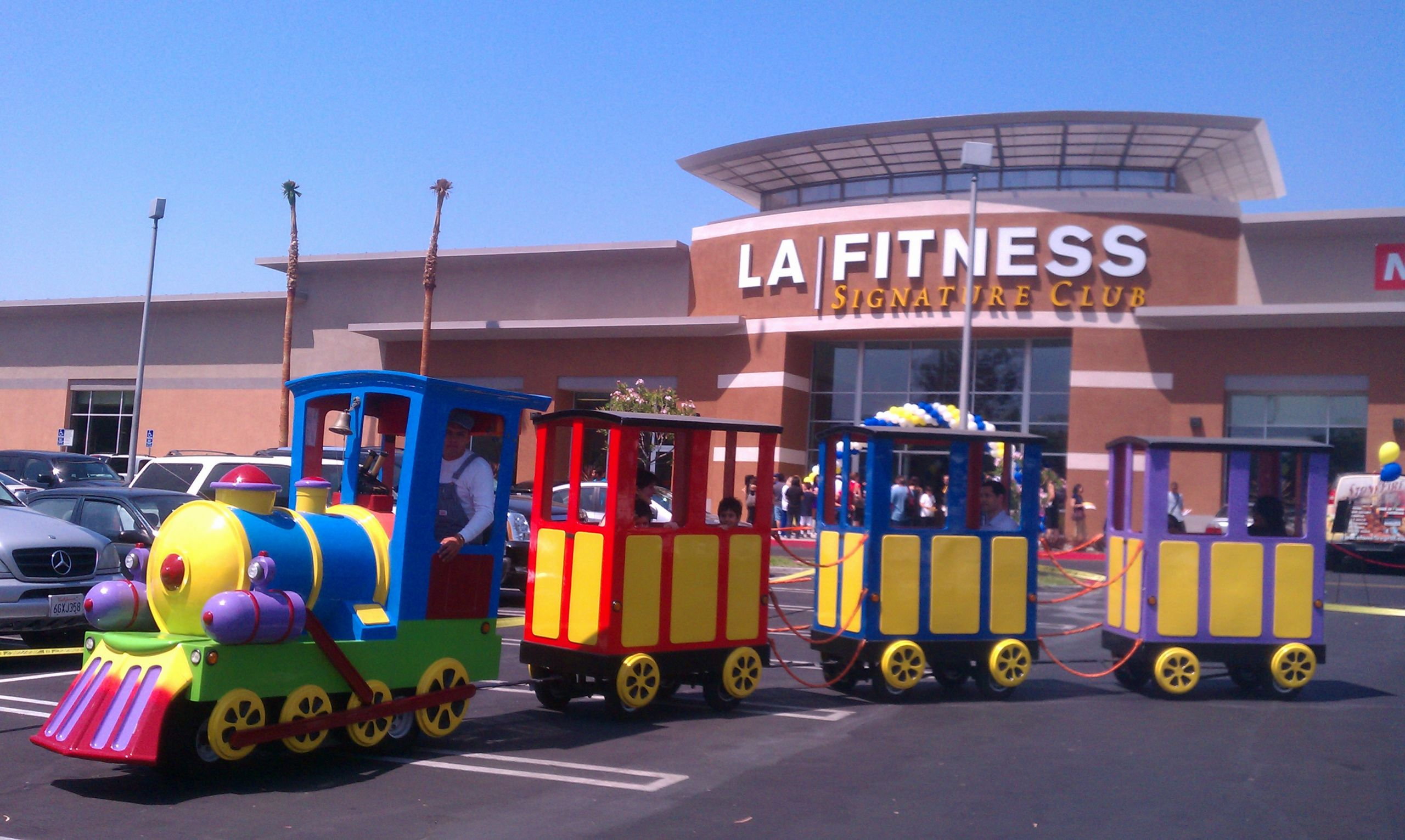 Kids Party Trains  Entertain the Kids with a Party Train Rental at the Grand